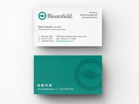 Bloomfield Business Cards