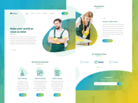 BeClean Landing Page