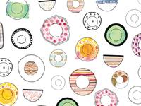 Dish pattern
