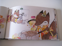 Fox cooking