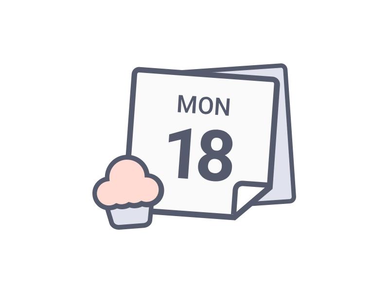 No Shif Today today icon shift calendar illustration icons