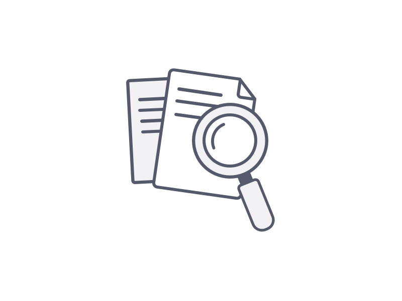 Icon Search icon illustration searh files search