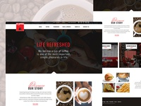 Cuppastop.com -Redesign Website