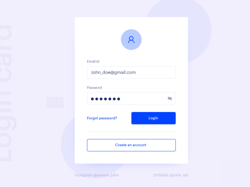 Login Form agency account creative trend ui ui design login page login form register form login