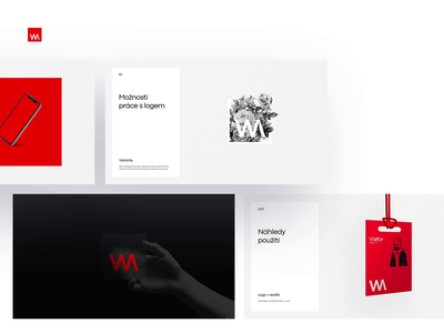 WM Logo & Brand Concept for Digital Agency typogaphy simple graphic design logo design logodesign branding brandbook ui concept digital