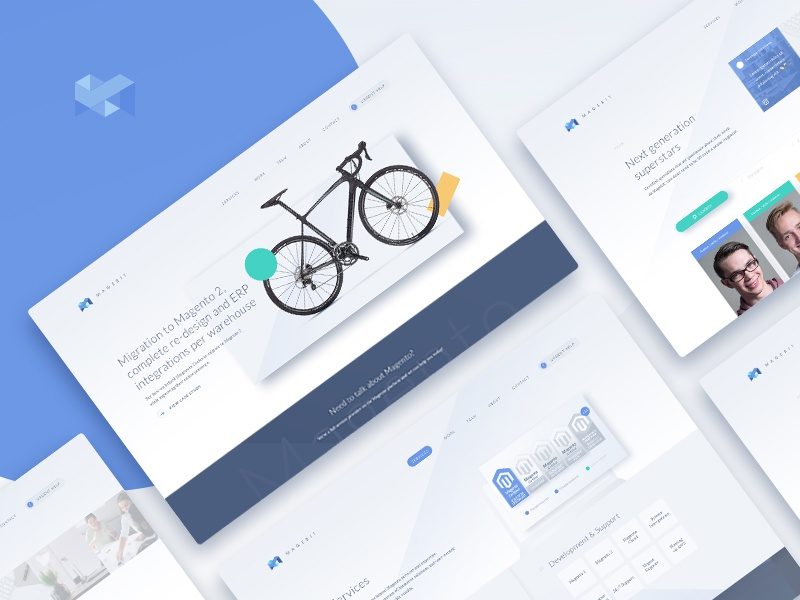 Magebit - Magento Solutions ui ux web design magento magebit