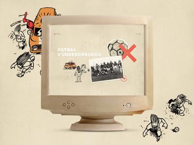 Underground Fotball fotball retro web
