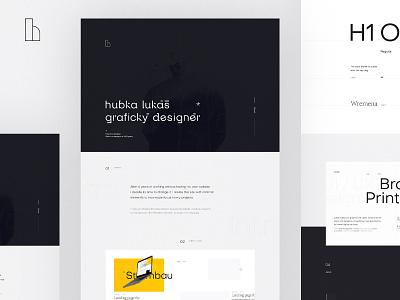 SelfBrand & Portfolio - Behance Case study typography webdesign designer freelancer selfbrand behance