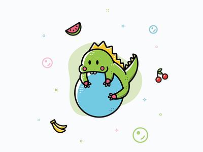 Bubble Bobble bubble bobble design illustrator video games video game vector illustration