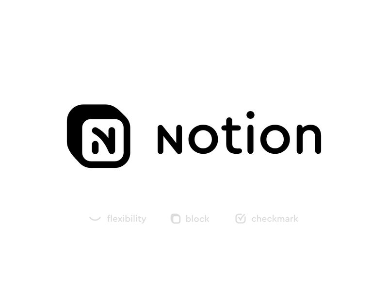 Notion logo redesign concept notion big sur redesign affinity 2d logo mark logo conept exploration icon logodesign brand logo logotype redesign concept branding branding concept