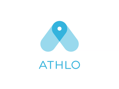 Athlo - Logo Animation circles swirl vortex icon motion graphics motion design motion logo animation branding reveal logo reveal intro animated logo brand animation animation alexgoo after effects ae 2d animation 2d