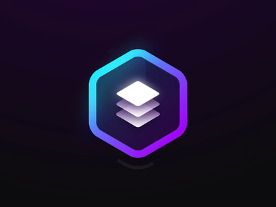 Blocs - Logo Animation icon animation stack hexagon layers motion graphics motion design motion logo animation logo branding reveal logo reveal intro animated logo brand animation animation alexgoo after effects 2d animation 2d
