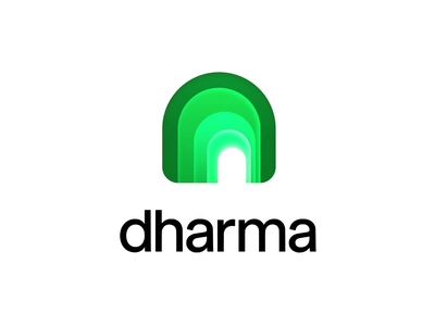 Dharma - Logo Animation typography logo intro portal tunnel icon animation motion graphics motion design motion logo animation logo branding logo reveal animated logo brand animation animation alexgoo after effects ae 2d animation 2d
