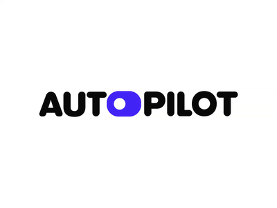 Autopilot - Logo Animaiton boom switch data visualization pre-loader icon animation motion graphics motion design motion logo animation logo branding reveal logo reveal animated logo brand animation animation alexgoo after effects 2d animation 2d