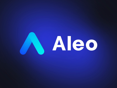 Aleo - Logo Animation animated gradient pre-loader