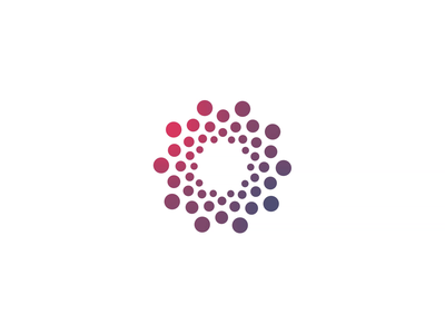 Sensiva - Logo Animation animated logo animated typography vortex dots infinity animation seamless loop icon animation alexgoo after effects motion graphics logo intro logo reveal 2d animation logo animation