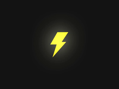 Lightning | Pre-loader animation triangle lightning flash icon alexgoo 2d motion gif after effects logo logo animation animation motion design motion graphics ae brand branding video 2d animation