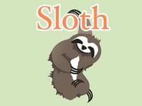 Citrus Colored Sloth