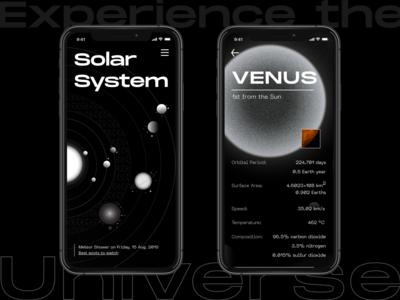Brutalist Solar System