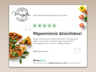 User Review - Margerita Restaurant & Pizza