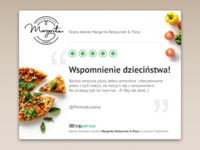 User Review - Margerita Restaurant & Pizza