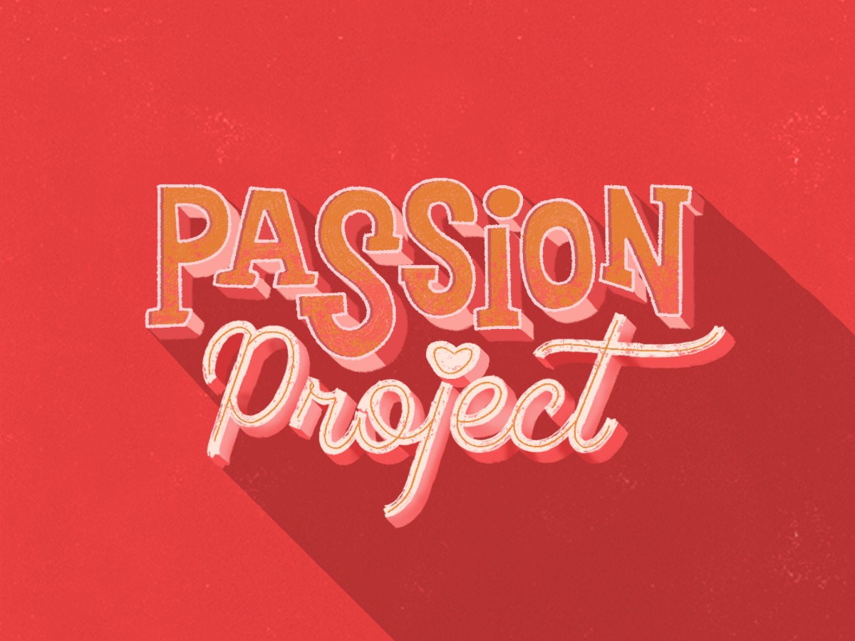Passion to Paid color digital agency vector design passion project project passion digitalart art typography lettering digital handlettering