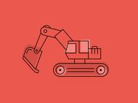 Excavator - power shovel
