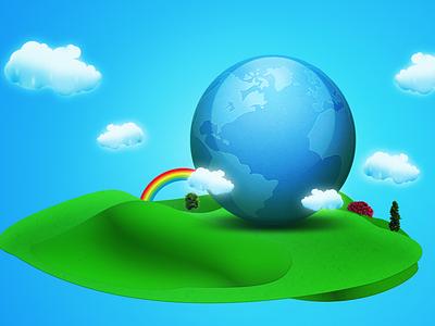 Earth Illustration nature illustration earth