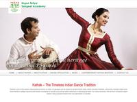 Learn kathak Website
