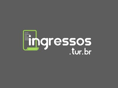 Ingressos.tur.br logo branding logo
