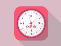 Ios Dribbble Clock