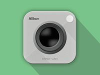 Nikon Paper-Cam iOS Icon