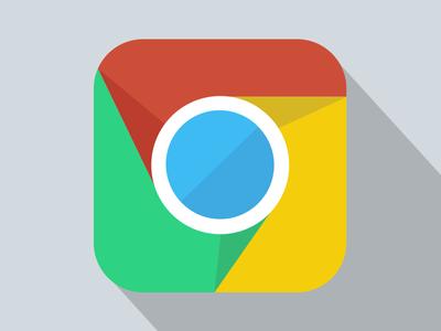 Chrome Flat Icon chrome browser flat icon