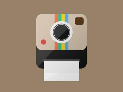 Instagram flat icon instagram icon flat vintage camera foto photo polaroid oldcamera