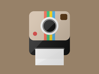 Instagram flat icon