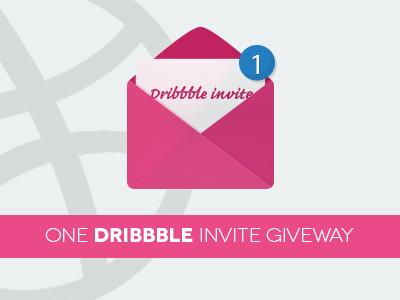 Dribbble invite giveaway dribbble invite giveway invitation