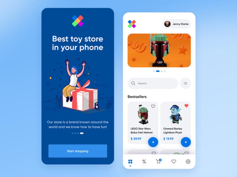 Toy Store App