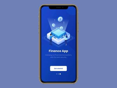 Finance App Prototyping dashboard finance app app design 2020 trends clean animation app ui elements ux uidesign ui design prototype protopie5.0