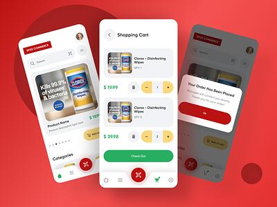 EPOS e-commerce app shopping app shop app design e-commerce e-commerce app animation branding app 2020 trends web-design ux ui elements uidesign ui design