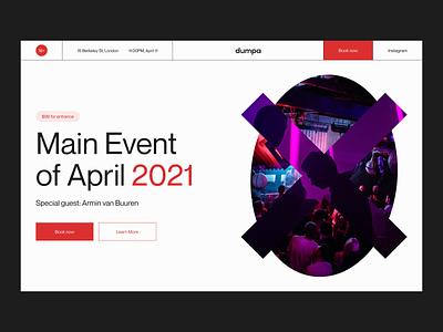 Dumpa Concept website design web design webdesign 2021 trend 2020 trends 2020 trend branding logo app illustration website minimal web web-design ux ui elements uidesign ui design