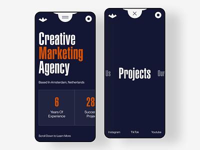 Hills — Responsive Design responsive design responsive marketing agency marketing uiux website 2021 trends 2020 trends branding logo illustration web web-design ux ui elements uidesign ui design