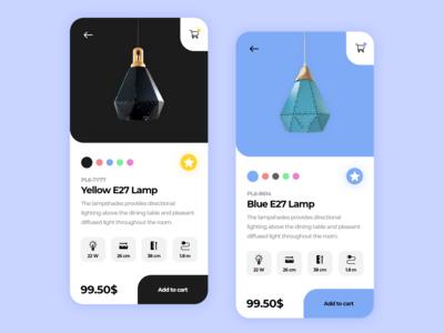 Lamp Store App