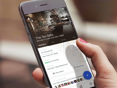Foursquare City Guide Place Pages