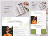 New Book Landing Page
