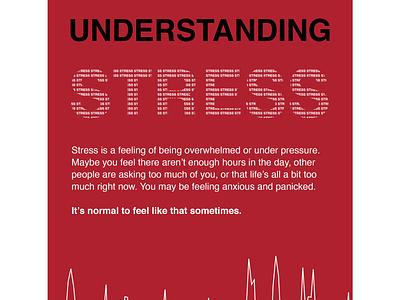Understanding Stress graphicdesign poster design dailyui