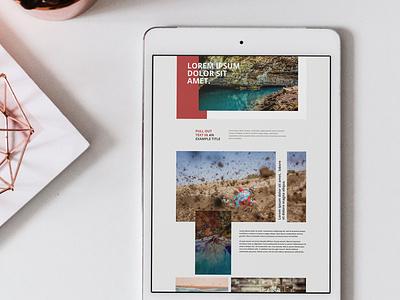 New site design for a friend websitedesign website webdesign design dailyui