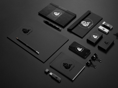 MazGazi logo render branding logo illustration design