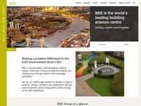 Corporate site layout reshuffle