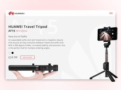 Daily UI - Huawei Selfie Stick