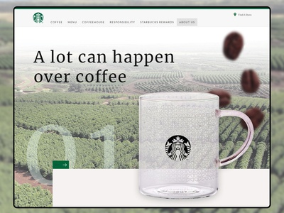 Daily UI - A lot can happen over coffee